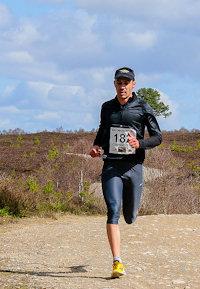 long-distance trail runner